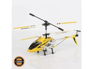 Clearance 3.5 CH iPhone Remote Control Alloy Helicopter with Gyro Yellow