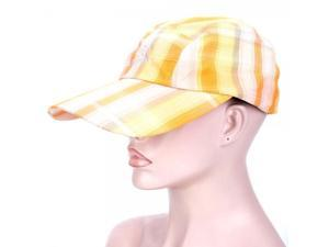 Outdoor Folding Sun Hat Yellow