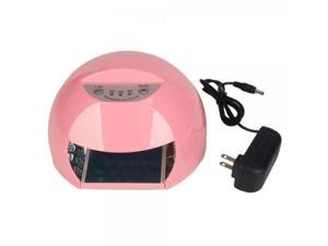 12W LED Nail UV Curing Lamp and Dryer Pink