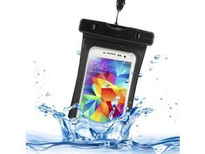 Sealed and Waterproof Bag with Clip and Strap for Samsung Galaxy S5 / G900 / Galaxy S5 mini / Galaxy S IV / i9500 / Galaxy SIII / i9300, iPhone 6 / 5 / 5S / 5C (Black)