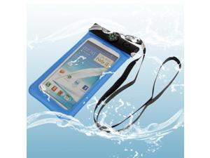 Waterproof Bag with Strap & Armband for Samsung  Galaxy Note II / N7100 / Note III / N9000 / N7000  (Blue)