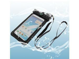 Waterproof Bag with Strap & Armband for Samsung Galaxy Note II / N7100 / Note III / N9000 / N7000  (Black)