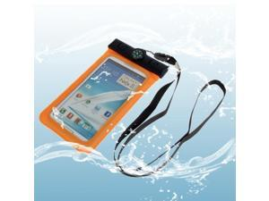 Waterproof Bag with Strap & Armband for Samsung  Galaxy Note II / N7100 / Note III / N9000 / N7000  (Orange)