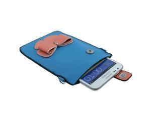 Leather Case / Carry Bag / Shoulder Bag / Handbag for Samsung Galaxy Note II / N7100, Galaxy Note / i9220 / N7000  (Blue)