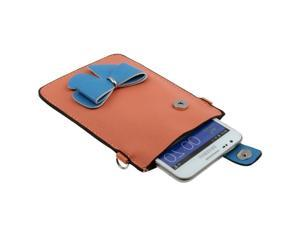 Leather Case / Carry Bag / Shoulder Bag / Handbag for Samsung Galaxy Note II / N7100, Galaxy Note / i9220 / N7000  (Orange)