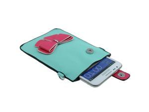 Leather Case / Carry Bag / Shoulder Bag / Handbag for Samsung Galaxy Note II / N7100, Galaxy Note / i9220 / N7000  (Baby Blue)