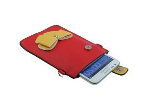 Leather Case / Carry Bag / Shoulder Bag / Handbag for Samsung Galaxy Note II / N7100, Galaxy Note / i9220 / N7000  (Red)
