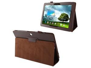 Litchi Texture Leather Case with Holder for Asus MeMO Pad FHD 10 / ME302C  (Brown)