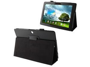 Litchi Texture Leather Case with Holder for Asus MeMO Pad FHD 10 / ME302C  (Black)