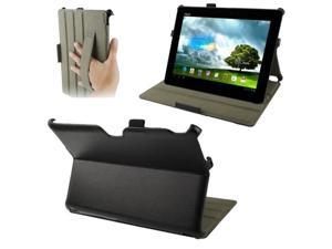 Thermal Styling Litchi Texture Leather Case with Holder & Elastic Hand Strap for ASUS MeMO Pad FHD 10 / ME302C  (Black)