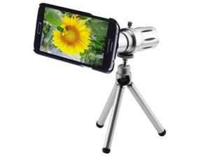 12X Telescope Lens for Samsung Galaxy S5 / G900 (Silver)
