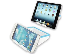 Portable Universal Mobile Phone Bracket for Samsung Galaxy S4 / i9500 / i9300 / iPhone 5 / iPhone 4 & 4S / 3GS / iPad  (iPad 3) / iPad 4 / iPad mini 1 / 2 / 3  (Baby Blue)