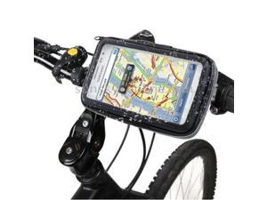 Bike Mount & Waterproof Touch Case for Samsung Galaxy Note / i9220 / N7000, Note II / N7100 , Note III / N9000 (Black)
