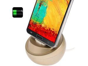 EAGLE USB Sync Cradle Desktop Dock Charger for Samsung Galaxy Note III / N9000  (Light Gold)