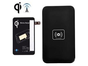 QI Wireless Charging Pad and Charging Receiver for Samsung Galaxy Note Edge / N915V N915P / N915T / N915A (Black)