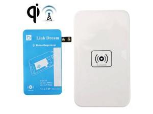 Link Dream QI Wireless Charging Pad and Charging Receiver for Samsung Galaxy Note Edge / N915V / N915P / N915T / N915A  (Blue + White)