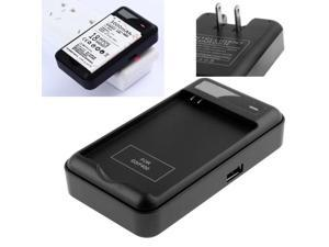 Universal USB Output Style Battery Charger for LG G3 / D850 / D851 / D855  (US Plug) (Black)