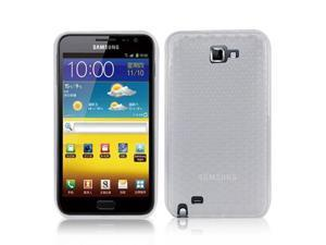 Translucent TPU Case for Samsung Galaxy Note / i9220 / N7000(White)