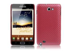 Plastic Case for Samsung Galaxy Note / i9220 / N7000 (Red)