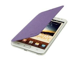 iFace Session.1 Single-sided Flip Artificial Leather Cover for Samsung Galaxy Note / i9220 / N7000, Note LTE / N7005(Purple)