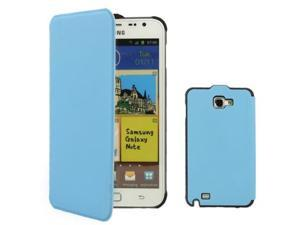 Hight Quality Flip Case for Samsung Galaxy Note i9220 / N7000,Note LTE / N7005,Baby Blue  (Original version)