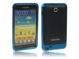 Sweet Armor Metal Aluminum Bumper Frame Case for Samsung Galaxy Note / i9220 / N7000, Note LTE / N7005(Blue)