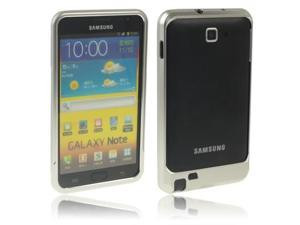 Sweet Armor Metal Aluminum Bumper Frame Case for Samsung Galaxy Note / i9220 / N7000, Note LTE / N7005(Silver)