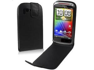 Leather Case for HTC Sensation 4G / Sensation XE / G18 (Black)