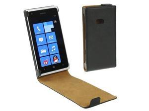Vertical Flip Holster for Nokia Lumia 900  (Black)