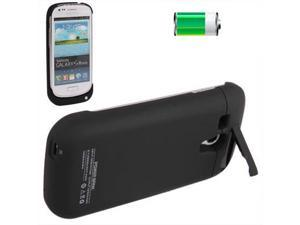 2000mAh Portable Power Bank External Battery with Holder for Samsung Galaxy SIII mini / i8190 (Black)