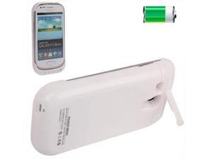 2000mAh Portable Power Bank External Battery with Holder for Samsung Galaxy SIII mini / i8190 (White)