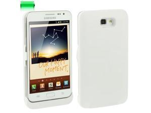 5V 3200mAh Ultra Thin Power Bank External Battery for Samsung Galaxy Note i9220 / N7000 (White)