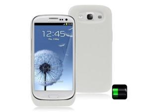 5V 3500mAh Portable Power Bank External Battery with Switch for Samsung Galaxy SIII / i9300 (White)