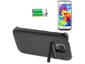 3500mAh Portable External Lithium-polymer Battery with Holder for Samsung Galaxy S5 / G900, Battery Anode Material: LiCoO2 (Black)