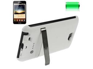 3200mAh Portable Power Bank External Battery Case with Holder for Samsung Galaxy Note i9220 / N7000 (White)