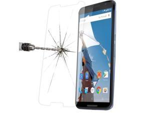 0.33mm 2.5D Premium Tempered Glass Film Screen Protector + Mobile Phone Holder for Google Nexus 6