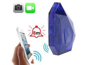 D8 Smart Buzz / Innovative Locator / Bluetooth V4.0 Anti Theft Alarm with Remote Shooting for iPhone 5 & 5C & 5S, iPhone 4S / iPod touch 5, iPad Air / iPad mini Retina etc.  (Dark Blue)