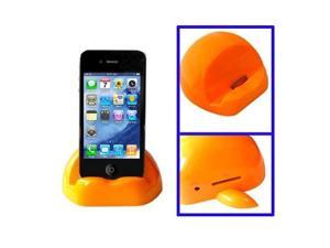 Apple Shaped Universal Docking Charger Holder for iPhone 4 & 4S, iPad, iPhone 3G/3GS  (Orange)
