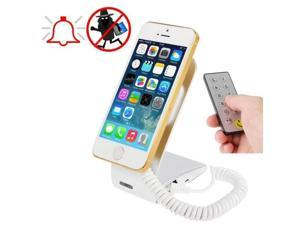 Alloy Material Universal Mobile Phone Burglar Display Holder / Anti-theft Display Stand with Remote Controller, Suitable for Samsung / iPhone 5S / 5C / Sony / HTC and MP4 etc.