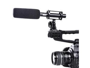 BOYA BY-PVM1000 Professional Shotgun Microphone / Professional Photography Interview Dedicated Microphone for DSLR & DV Camcorder (Black)