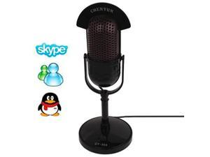 3.5mm Professional Dynamic Multimedia Microphone, Support Chatting over QQ, MSN, SKYPE and Singing Over Internet, Cable Length: 2m  (CY-509)