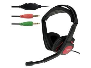 OVLENG S666 Universal Stereo Headset with Mic and Volume Control Key for Computer, Cable Length: 1.8m (Black)