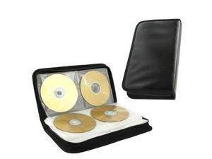 PP Material Wide CD Case with 80 Purchase, Compatible with CD-R / CD / DVD / VCD