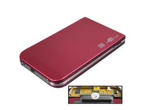 2.5 inch HDD SATA External Case (Red)