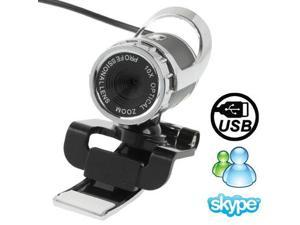 5.0 Mega Pixels 10X Digital Zoom USB 2.0 Driverless PC Camera / Webcam with Clip, Support 360 Degree Rotation, Cable Length: 1.1m
