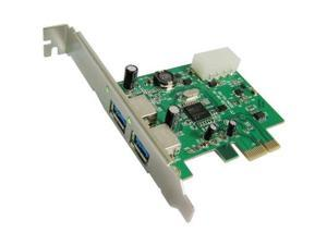 PCI Express to 2 Ports USB 3.0 PCI Adapter Card