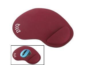 Cloth Gel Wrist Rest Mouse Pad  (Scarlet Red)