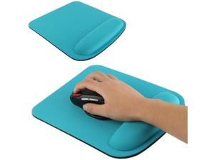 Cloth Gel Wrist Rest Mouse Pad (Blue)
