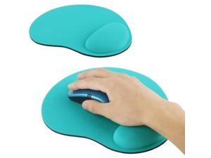 Cloth Gel Wrist Rest Mouse Pad (Green)