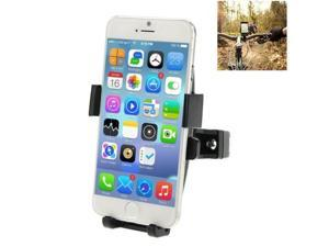 360 Degree Rotation Bicycle Phone Holder for iPhone 6 & Plus / iPhone 5 & 5C & 5S / iPhone 4 & 4S, Clip Size: 50mm-75mm